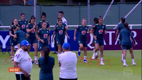 Marta é confirmada como titular em partida contra a Itália