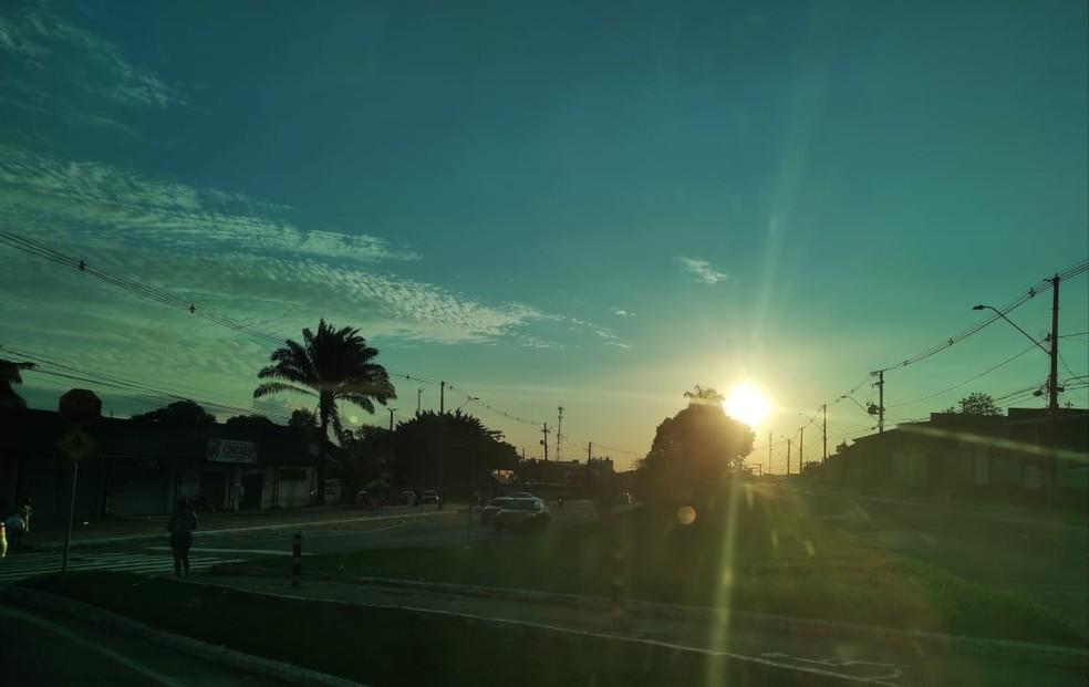Sipam prevê quarta-feira (26) com sol em todas as regiões acreanas — Foto: Geisy Negreiros/Arquivo pessoal
