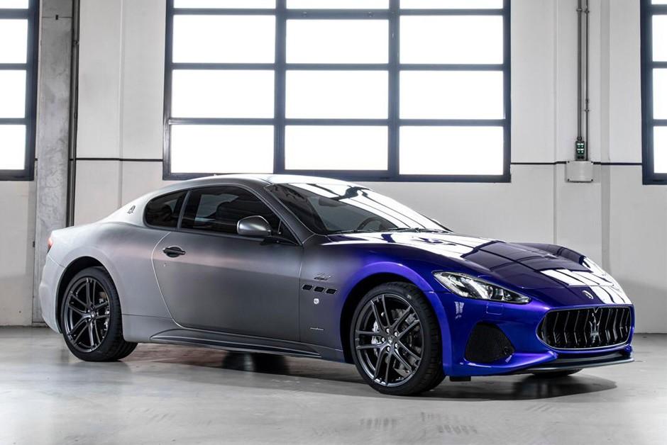 Maserati GranTurismo Zeda marca o fim da produção (Foto: Divulgação)