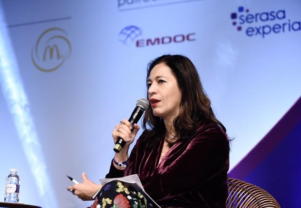 Sandra Boccia, diretora das marcas Época Negócios e Pequenas Empresas & Grandes Negócios, durante o Conalife 2018 (Foto: Gustavo Morita/Divulgação Conalife)