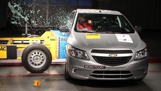 Só 2 dos 6 carros que tiveram notas baixas em segurança receberam melhorias