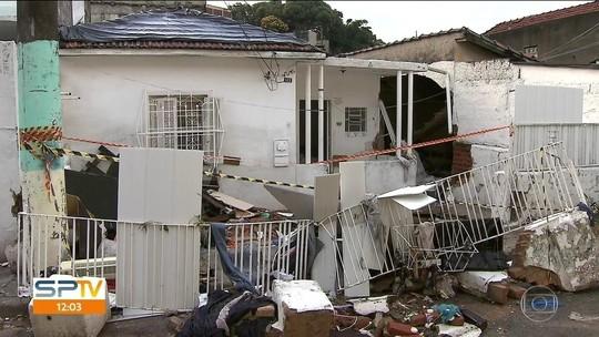 Bebê, idosa e vigilante morreram por causa do temporal de ontem em SP