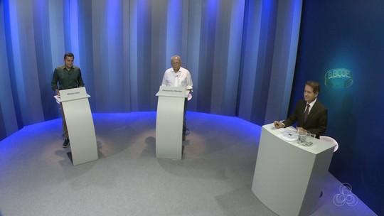 Candidatos ao governo do AM participam de último debate na Rede Amazônica