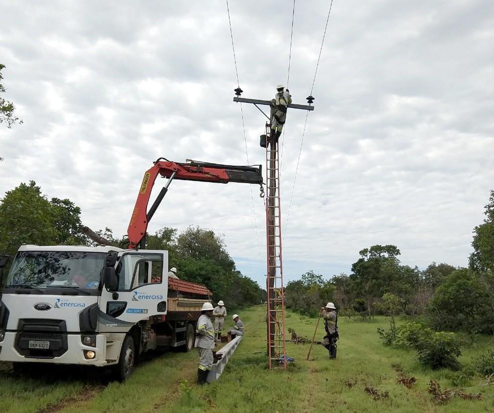 Energisa realiza manutenção em 14 cidades do Tocantins — Foto: Divulgação/Energisa