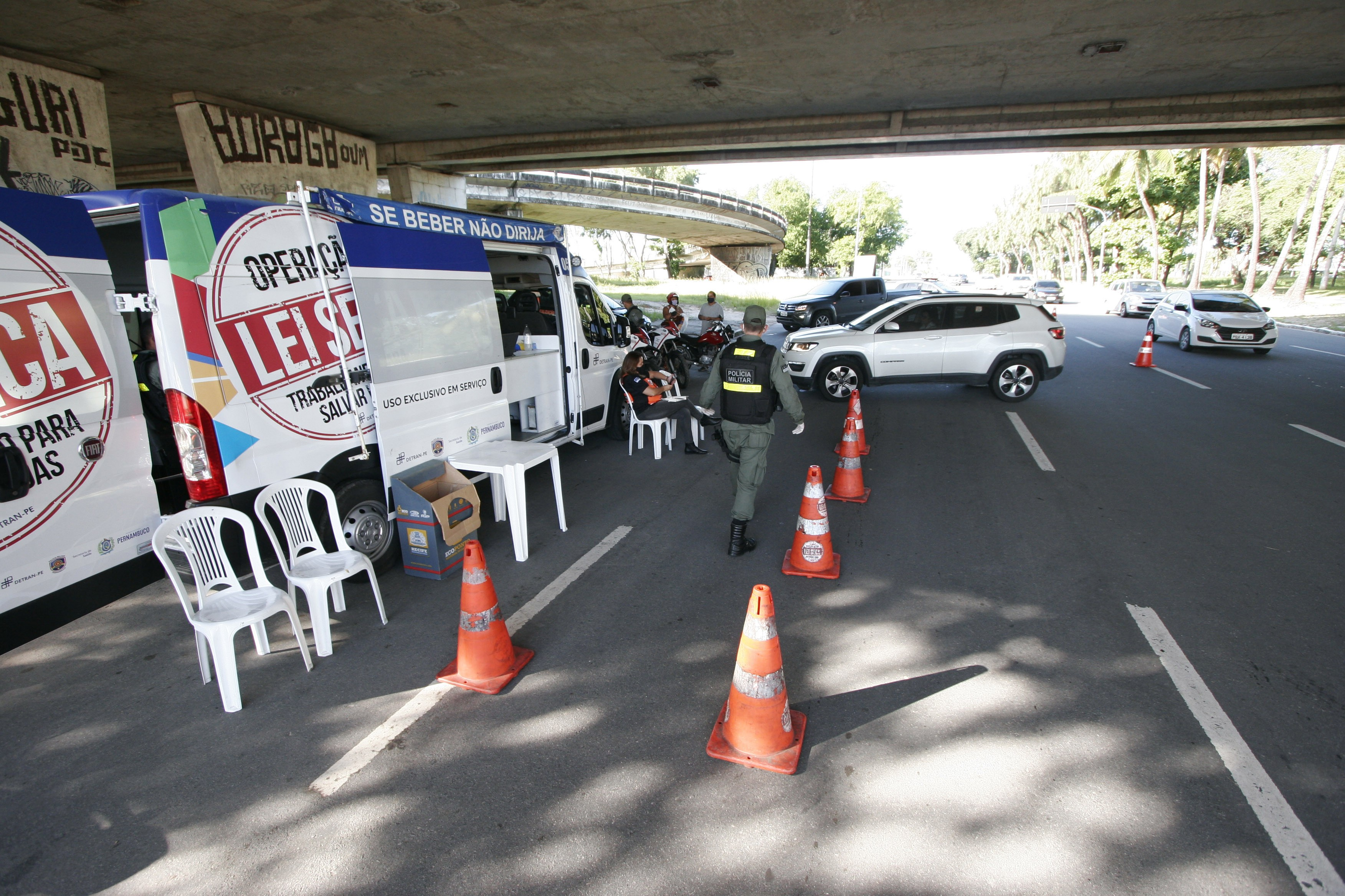 Sobe 61% número de motoristas autuados pela Lei Seca em Pernambuco, em meio à pandemia