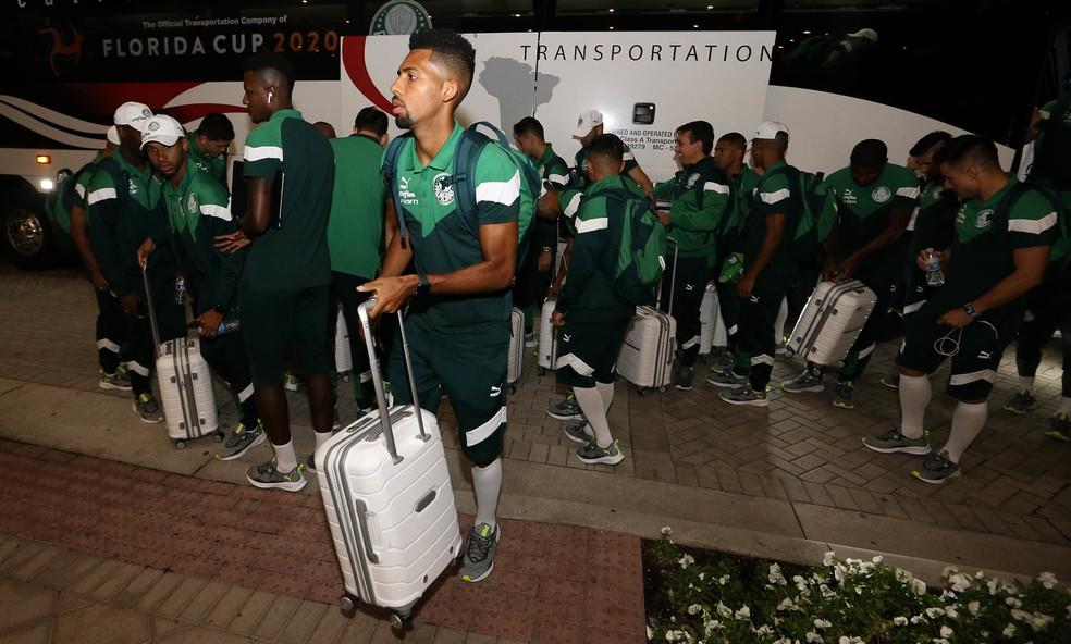 Matheus Fernandes pode deixar o Palmeiras para jogar no Barcelona — Foto: César Greco/Ag.Palmeiras