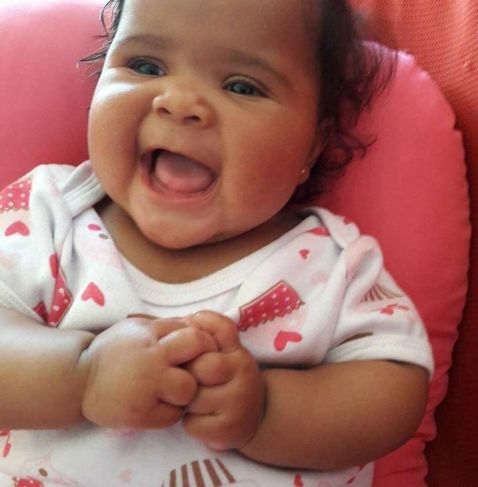 Bebê morreu no primeiro dia em que foi levada para creche particular em Campinas (Foto: Devair Maciel / Arquivo pessoal )