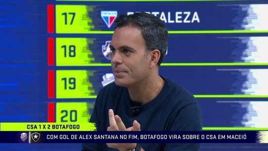 """No Troca de Passes, Cereto elogia trabalho de Barroca no Botafogo: """"Tira leite de pedra"""""""