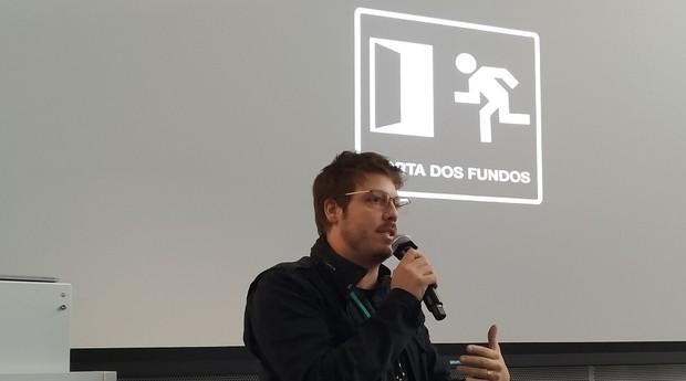 Fábio Porchat, sócio da produtora Porta dos Fundos (Foto: Redação)