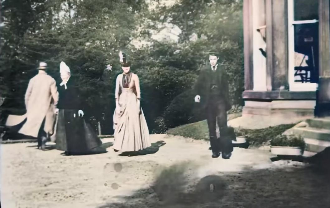 O inventor Louis Le Prince gravou o filme Roundhay Garden Scene em 1888 (Foto: reprodução)