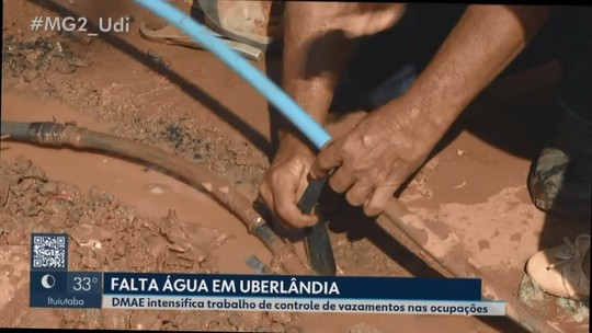 Crise hídrica em Uberlândia: Dmae inicia ação para evitar desperdício de água