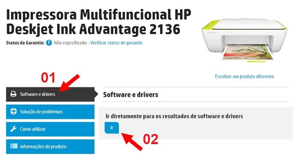 Como baixar e instalar o driver da impressora HP Deskjet Ink