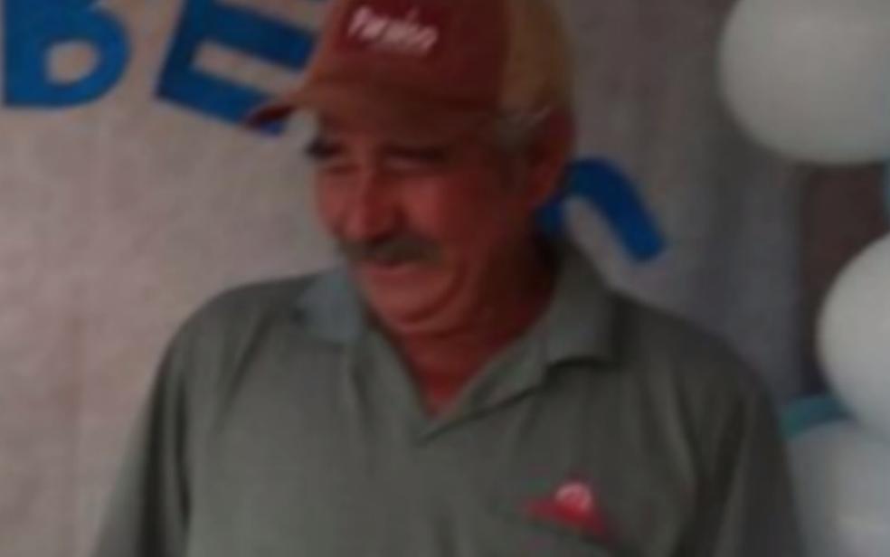-  Lázaro Furtado, de 68 anos, morreu após a ambulância, em Goiás  Foto: Reprodução/TV Anhanguera