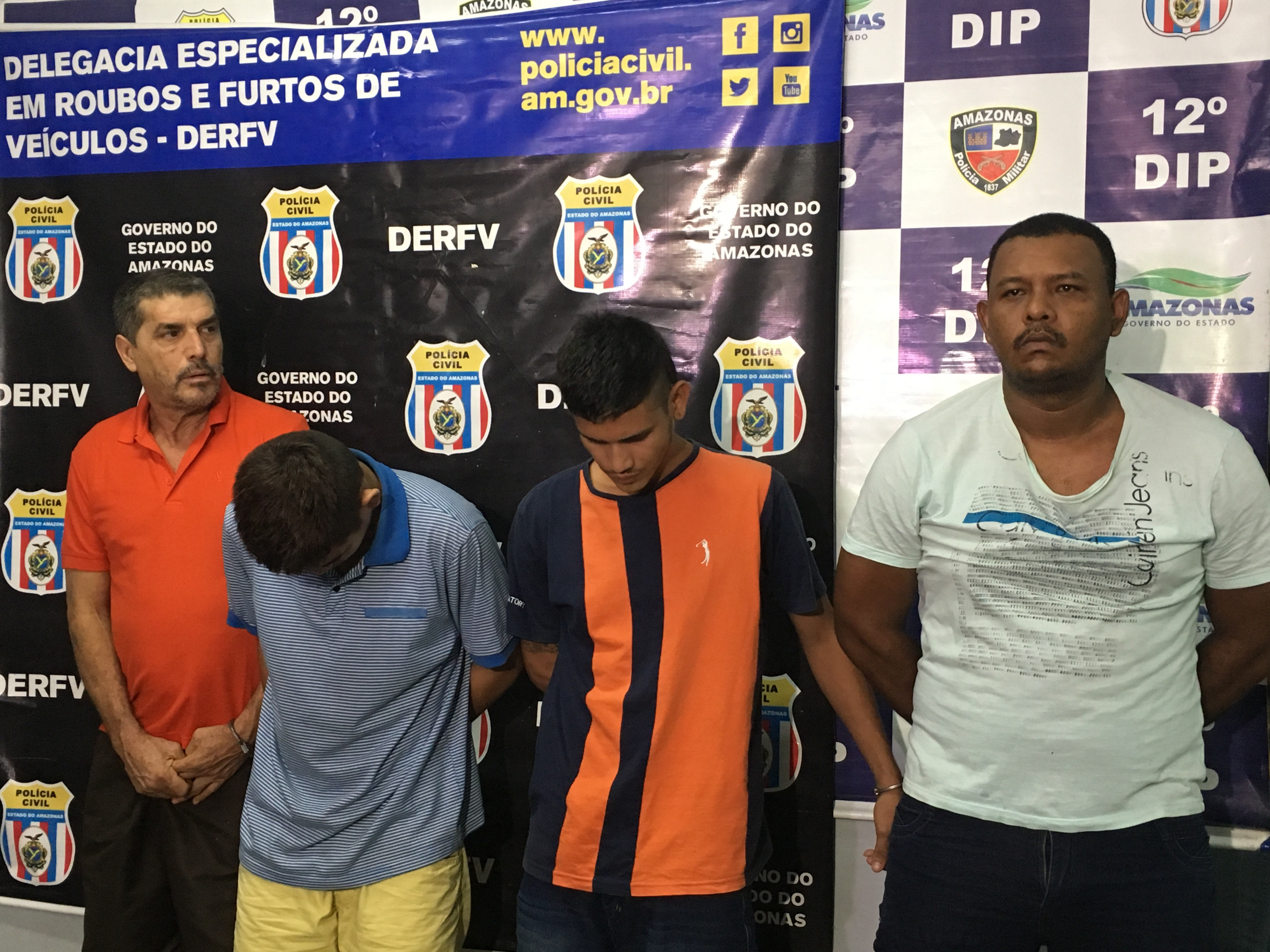 Suspeitos de fazer família refém em assalto a distribuidora são presos em Manaus