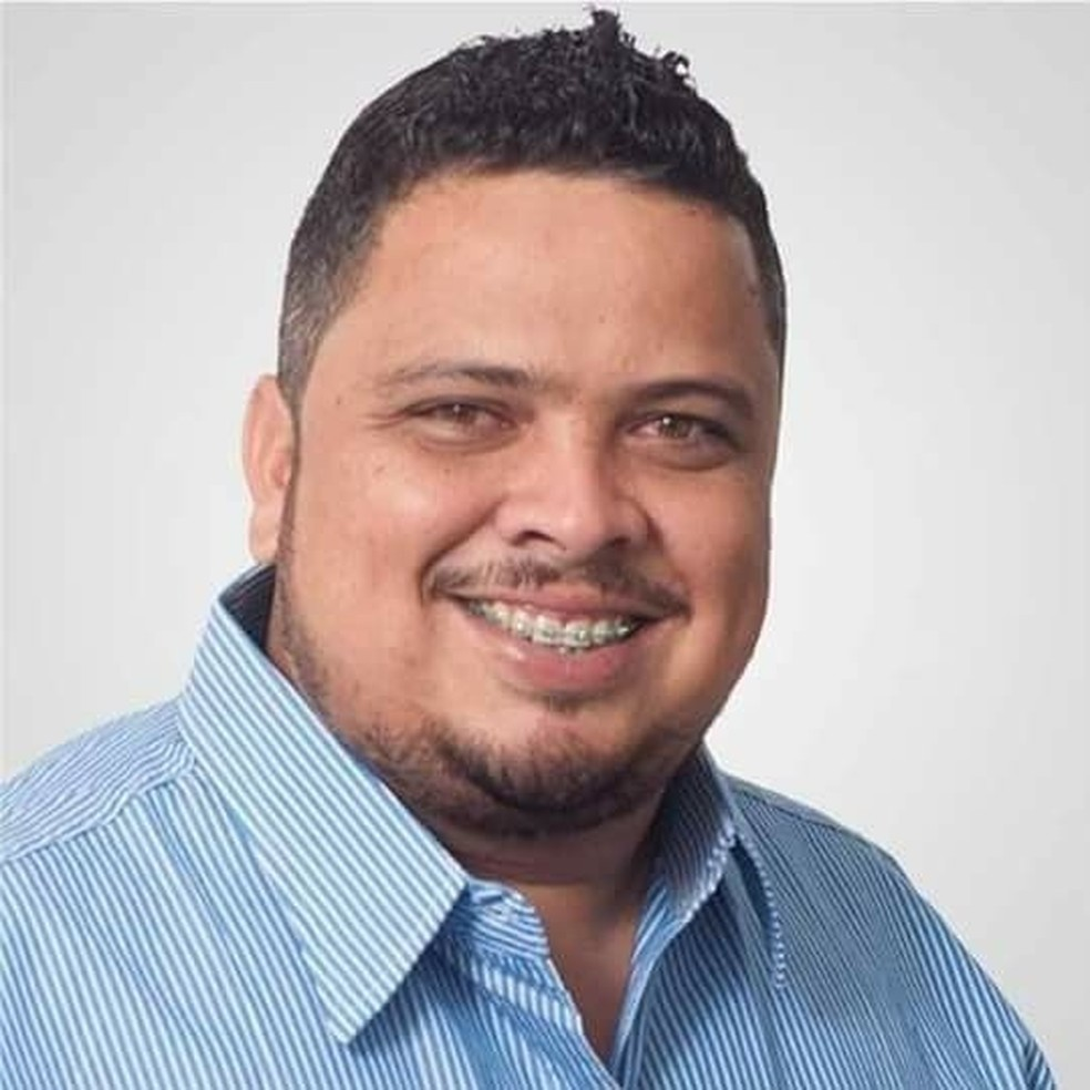Paulo Henrique Dourado Teixeira, suplente de vereador, foi morto na Região Metropolitana do Rio — Foto: Reprodução / Facebook