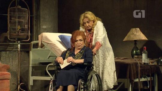 Eva Wilma e Nathalia Timberg estreiam 'O que terá acontecido a Baby Jane?' no Rio