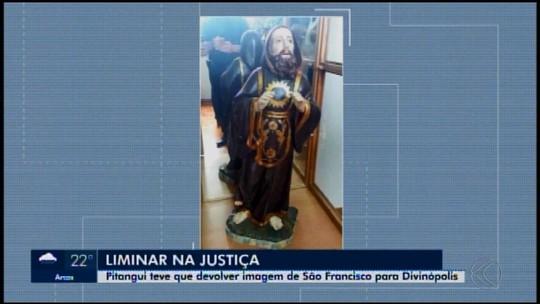 Imagem de São Francisco de Paula retorna para Mitra Diocesana de Divinópolis