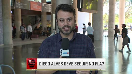 Jornalistas avaliam Diego Alves e Dorival Júnior em episódio de indisciplina no Flamengo