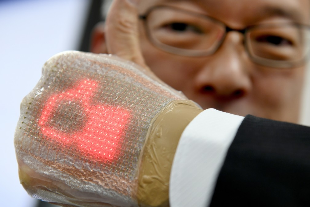 Inventor acredita que mecanismo pode ser usado na área da saúde (Foto: Toru Yamanaka/AFP )