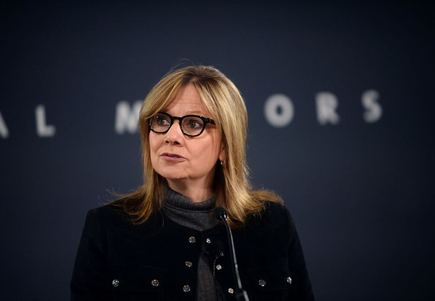 Mary Barra, CEO da GM (Foto: Rachel Woolf/Getty Images)