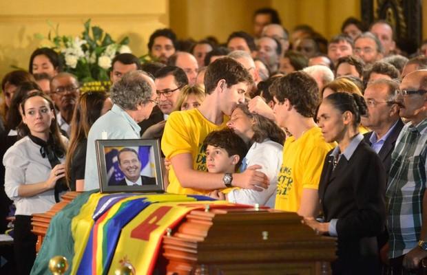 Velório de Eduardo Campos (Foto: Fernando Frazão/Abr)