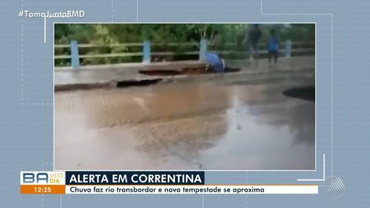 Prefeitura de Correntina, na Bahia, decreta situação de emergência após estragos causados por chuva