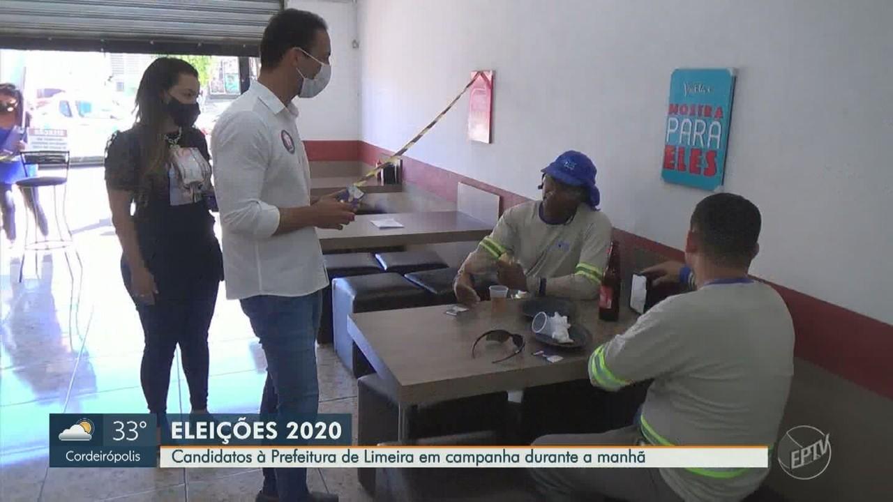 Eleições 2020: veja agenda dos candidatos a prefeito de Limeira nesta quarta (25)