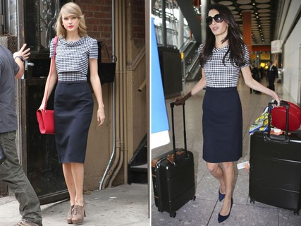 Taylor Swift e Amal Clooney, as elegantes polidas