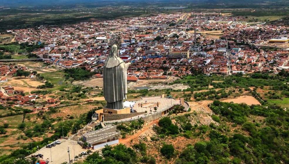 Município de Santa Cruz, na região Agreste potiguar — Foto: Canindé Soares