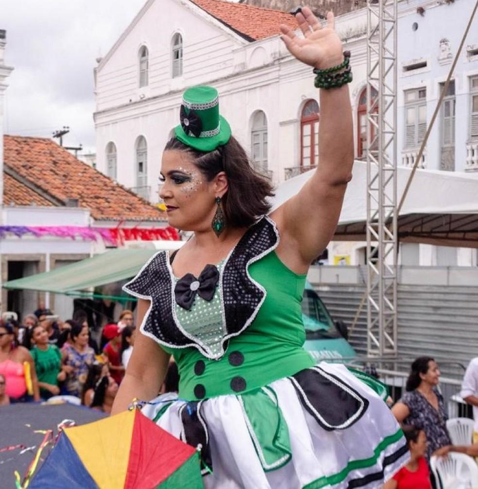 Concurso Rainha da Beleza Plus do carnaval de Pernambuco — Foto: Renato Sarmento/ Divulgação