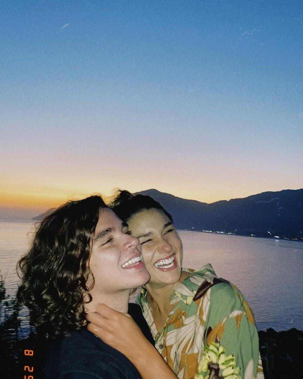 Sasha e o namorado, João Figueiredo — Foto: Reprodução/Instagram