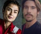 Maria Casadevall e Nicolas Prattes | Globo e reprodução