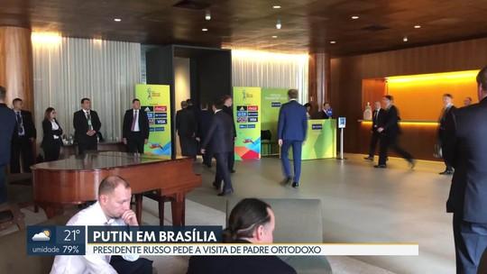 A movimentação de Vladimir Putin em Brasília