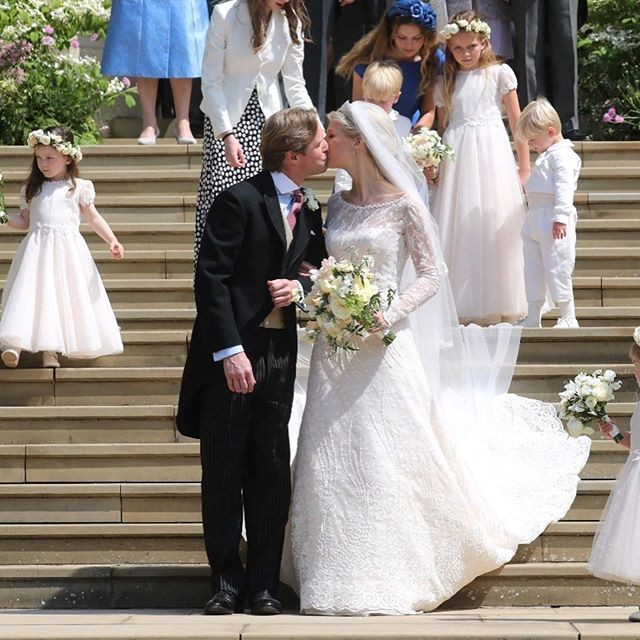 Fotos de vestidos de noiva: Lady Gabriella Windsor (Foto: Getty Images)