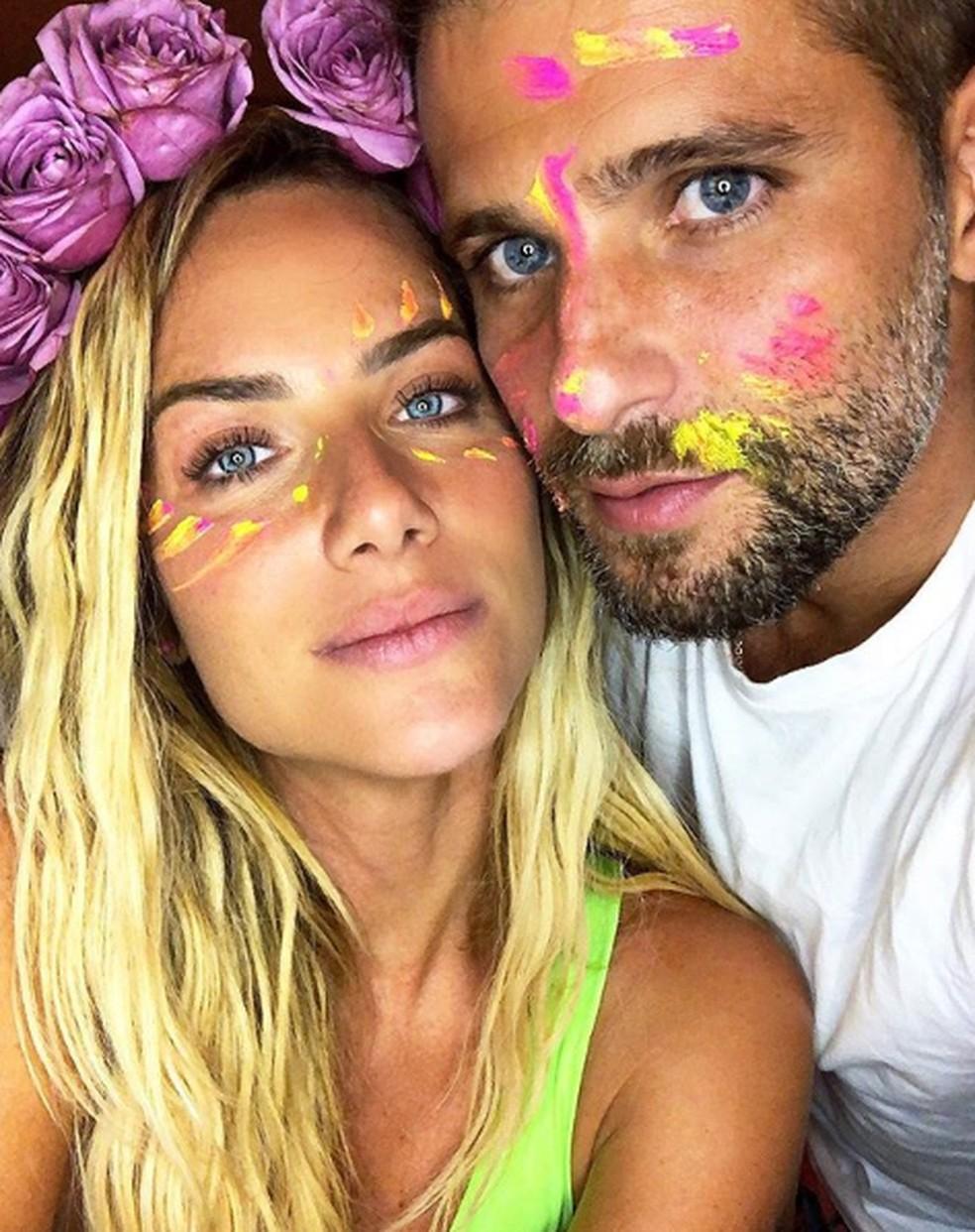 Giovanna Ewbank e Bruno Gagliasso  — Foto: Reprodução/Instagram