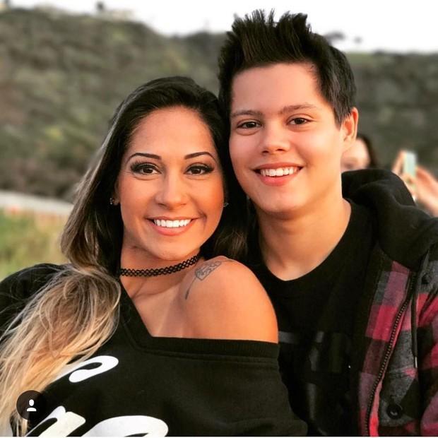 Mayra e Lucas (Foto: Reprodução)