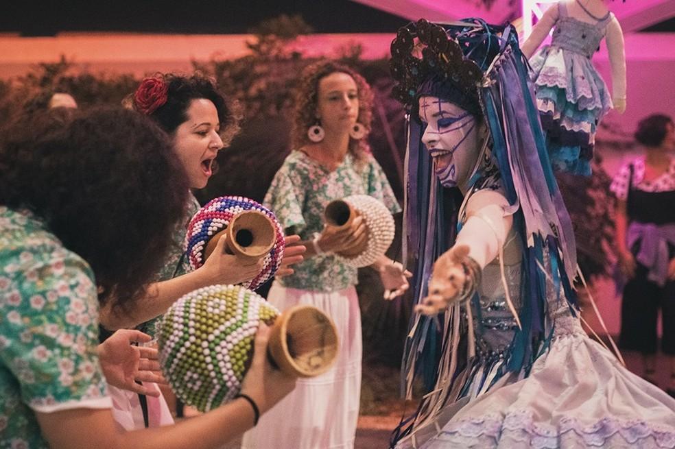 Orquestra Alada Trovão da Mata — Foto: Webert da Cruz/ Divulgação