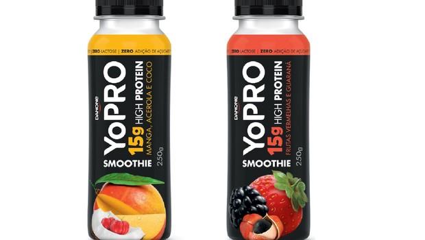 """YOPRO, novo danone """"smoothie"""" da companhia (Foto: Divulgação)"""