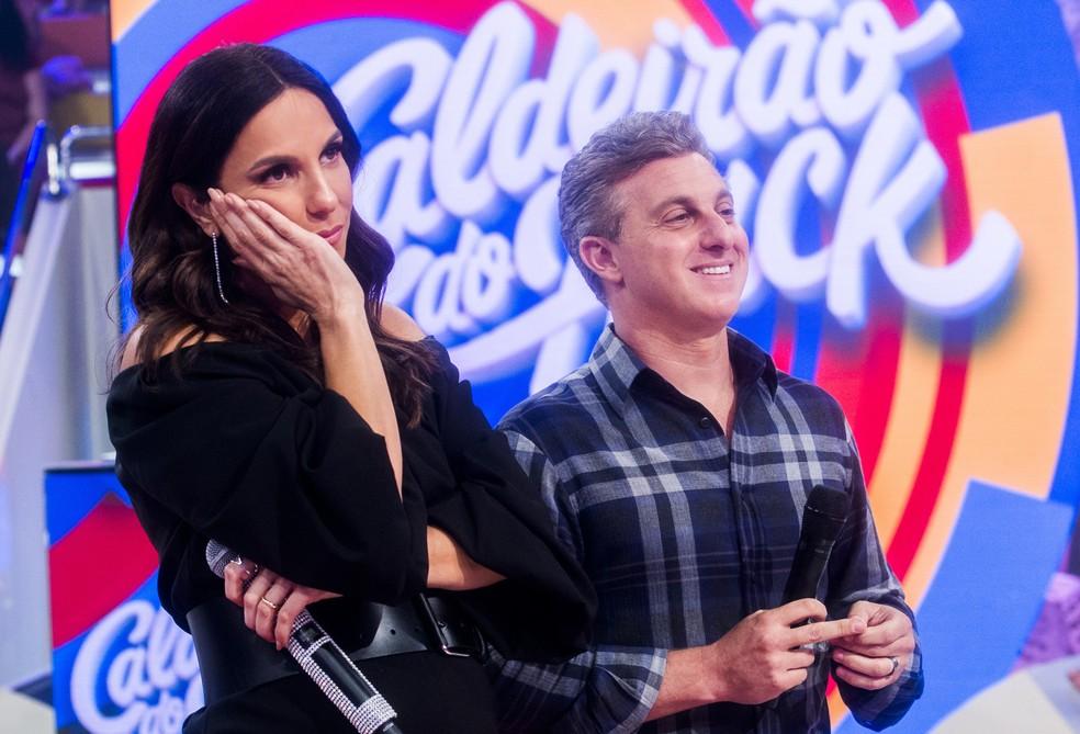 Ivete ficou emocionada com os depoimentos colhidos pela produção do programa (Foto: TV Globo/João Miguel Júnior)