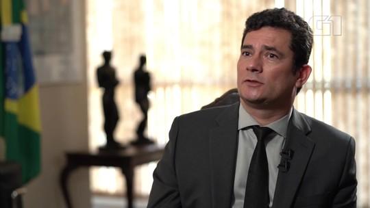 'Eu não entrei no governo para sair', diz Moro após reveses com Bolsonaro