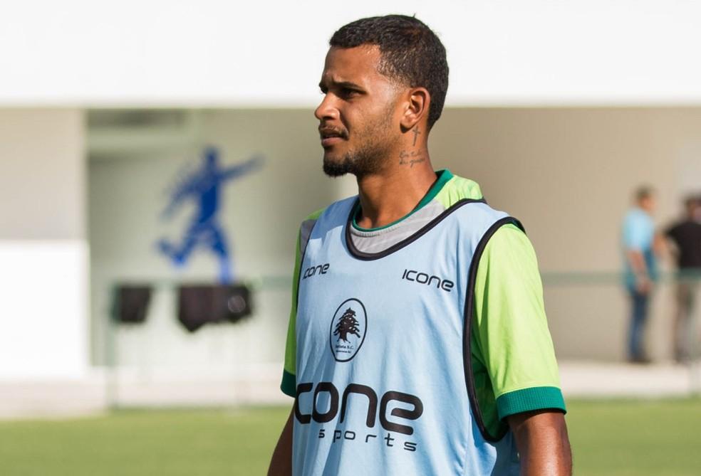 Zé Ricardo fez apenas um jogo pelo Boavista em 2019 — Foto: Eduardo Peralta / Boavista