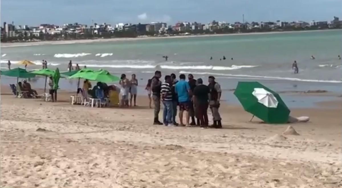 Turista morre afogada após conhecer o mar pela primeira vez em João Pessoa