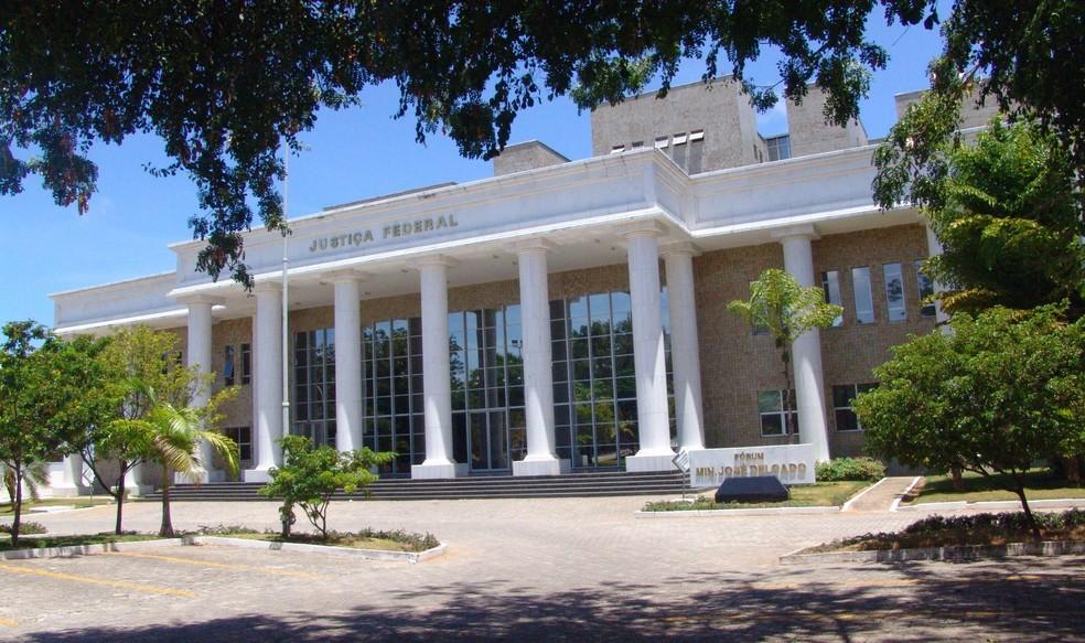 Sede da Justiça Federal do Rio Grande do Norte — Foto: JFRN/Divulgação