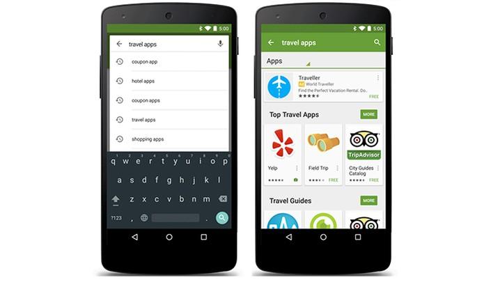 Google adiciona resultados de apps patrocinados na busca da Play Store (Foto: Divulgação/Google)