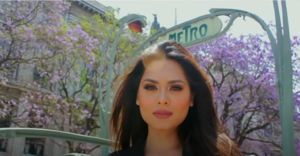 A mexicana Andrea Meza — Foto: Reprodução YouTube/Miss Universe