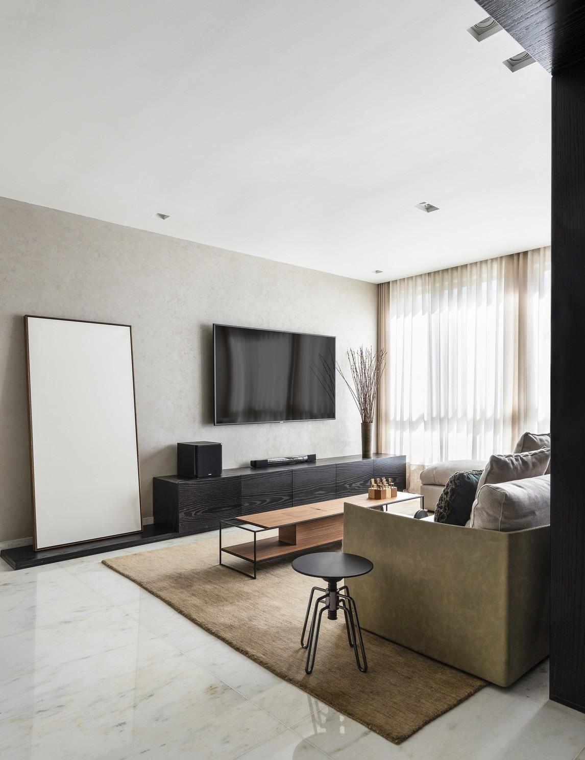 Décor do dia: sala de estar com estilo contemporâneo e paleta neutra (Foto: Ivan Araújo)