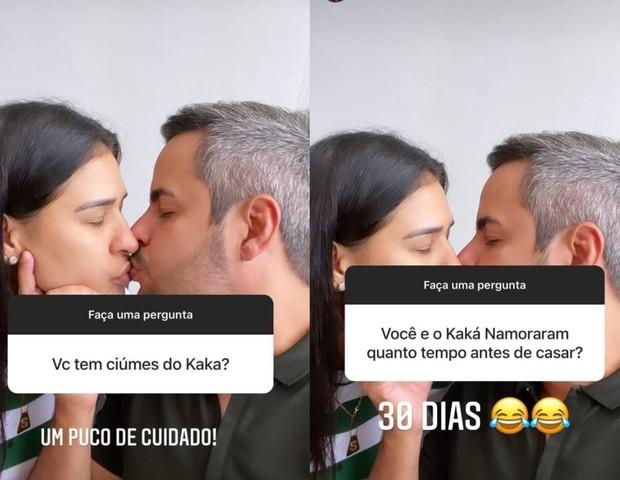 Simone Mendes e o marido, Kaká Diniz (Foto: Reprodução/Instagram)