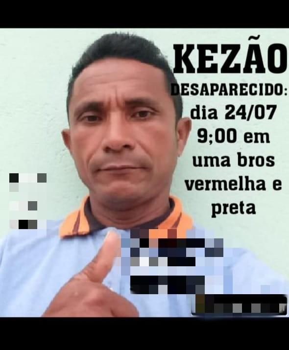 Corpo de mototaxista desaparecido há três dias é encontrado na cidade de Cururupu