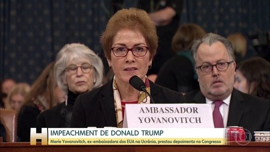 Ex-embaixadora na Ucrânia depõe e é atacada por Trump na internet