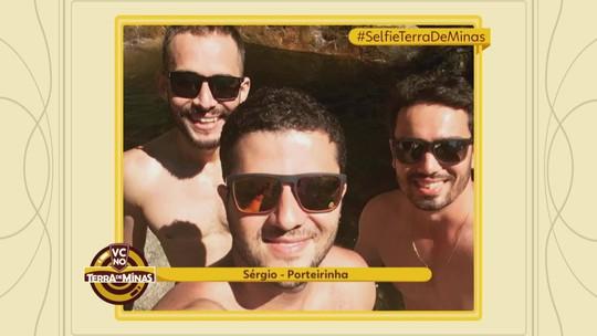 Veja selfies enviadas para o quadro #selfieterrademinas